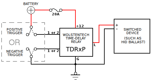 tdr p_basic_diagram dayton time delay relay wiring diagram circuit and schematics Dayton Off Delay Relay at soozxer.org